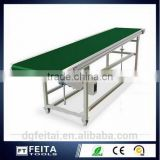 ESD Anti-static Aluminum Monoclinic Platform Factory Production Belt Conveyor for Assembly Work