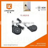 black drop-down support drop down hinge cabinet damper hinge from Guangzhou furniture hardware