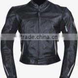 Leather Motorbike Jacket , Leather Sports Ladies Jacket , new 2014 stylish 100% Pure Cow Skin Sports Leather Jacket Ladies