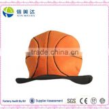 Deluxe Plush Basketball Hat Cap