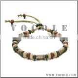 Light weight novelty buddha beads adjustable chain bracelet
