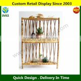 Bamboo Corner Display Shelf YM5-1430
