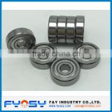 2.5x8x2.8 mm bearing ZZ sealed non-standard bearing deep groove ball bearing miniature bearing 602XZZ bearing special bearing