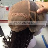 Wholesale Fashion Premium Quality Full Hand Tied Virgin Brazilian Human Hair Wig Full Lace brazilian hair wig
