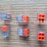 773 series junction boxes for insulation displacement connector nylon waterproof new design push in wire connectors