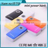 best selling products for christmas decoration gift Aluminium alloy case power bank 6000mah