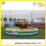 Inflatable mechanical bull rodeo,inflatable mechanical bull toys