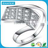 Alibaba Express Turkey Silver Diamond Wedding Rings