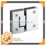SH-180S glass to glass Mirror/Mat SUS Heavy duty glass door hinge durable Patch fitting Brass Aluminum alloy door control