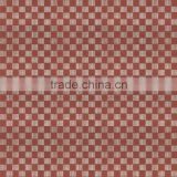 Red color plaid glazed metallic porcelain ceramic tiles for exterior stair design from foshan ceramic city