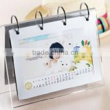 clear acrylic cheap usefull calender beautifull holder wholesale