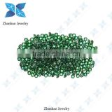 bulk green cubic zirconia for jewelry