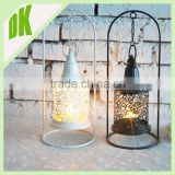 2016 hot New!!! Black / White Moroccan Table Centrepiece Candle Tea Light Lantern Holder Wedding !!! metal candle white lantern