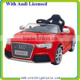 Newest AUDI RS5 Licensed Car, With 2.4G R/C,With Slow Start,With Three Speed,With PU Wheel, With Light Wheel,With TF Card Socket