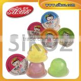 SK-V170 assorted fruit flavor jelly cup with coconut