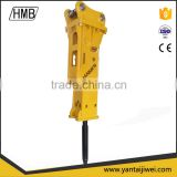 Hydraulic Road Construction Equipment Hydraulic Breaker, rock Hammer for excavator 1-55 ton