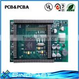 power board pcba assembly service and pcba design green solder mask pcb with lead free hasl pcb board led driver