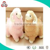 High Quality Animal Shape Custom Soft Cute Alpaca Toy For Sale