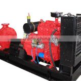 genset for water supply fire fighting water plant irrigation and drainage diesel water pump