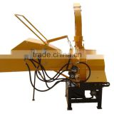 WC-8 PTO driven,hydraulic feeding,mobile wood chipper for 25hp-55hp tractor with CE
