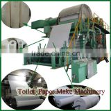 Automatic Waste Paper As Raw Materials toilet paper machine for sale Complete Line Equipment