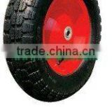 14'' Air Pneumatic Wheel Rim 8'' for wheelbarrow/ Hand Truck /Trolley