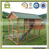 SDPets SDC008 Large wood Chicken Poultry Bird Rabbit Pet Coop Hen house Hutch Cage outside run