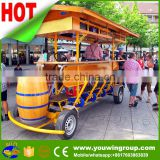 China factory entertainment Electric four wheel party quadricycle Beer Bike for sale