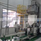 automatic peanut bag weight scale ,loading, packing, seal, and conveyor line