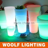 WOOLF led furniture from china waterproof led high Ice Bucket bar table furniture supplier