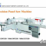 Woodworking Sliding Panel Saw Machine SH6130TZD with 3000x360mm Beeline Guide Rail and 45degree tilting and 4kw motor