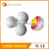 There layer golf range ball