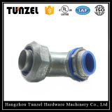 Liquid tight flexible duct 90 angle elbow liquid tight conduit connector