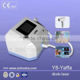 Y8 Professional 808nm laser hair removal machine