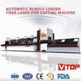 AUTOMATIC BUNDLE LOADER  FIBER LASER PIPE CUTTING MACHINE
