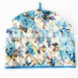 Blue Flower Pattern Heat Preservation Cotton Tea Cosy