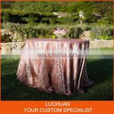 Hottest Fancy Banquet Decorative Sequin Table Overlay