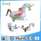 6P Giant Swimming Inflatable Pegasus Pink and Blue Wings Pool Float With EN71 Certification