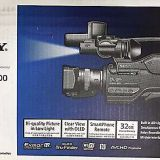 Sony - HXRMC2500 - Shoulder Mount AVCHD Camcorder