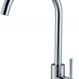 Single Handle Sink Kitchen Brass Faucet