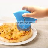 Creative Kitchen Gadget with Lock System and Comfortable Handle Pizza Cutter