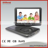Portable DVD Player+HD DVB-T2 receiver combo set