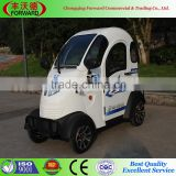 4 Wheels Electric Car For Passenger