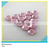DMC Pink Crystal Hot Fix Stone Iron-on Rhinestone DMC Hot Fix Machine Cut Rhinestone