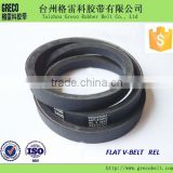 High quality REL SK, A, B, C rubber flat belt transmission belt auto fan belt rubber for car accessory