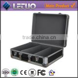 Aluminum china supplier portable dvd player case aluminium storage box To Fit 100 CD's