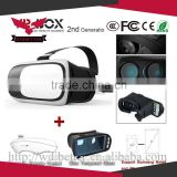 2016 Latest Plastic VR Box Xnxx 3D Video Porn Glasses Virtual Reality For Apple Smartphones