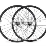 wholesale bicycle part disc brake 26 inch 22mm clincher mountain bike carbon wheelset MTB carbon wheels