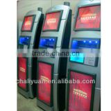 Cell phone charging machine, public cell phone charging kiosk