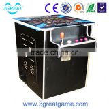 Hot sale coin operated cocktail table video game machine for sale